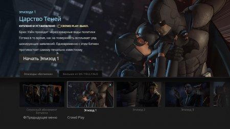 Batman: The Telltale Series Episode 1: Realm of Shadows